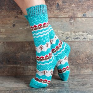 Wool Knee Highs - Aleftinka