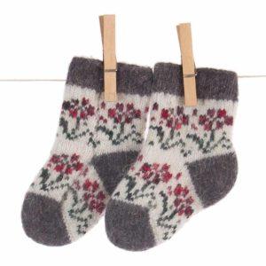 Chaussettes en laine pour tout-petit - Alenkiy