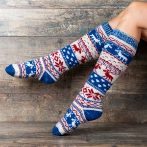 Wool Knee Highs - Arkadya